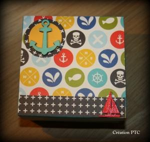 Boîte gigogne Pirate - Cliquez pour agrandir