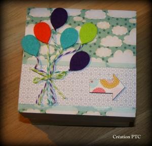 Boîte gigogne Ballons - Cliquez pour agrandir